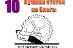 10 лучших статей на блоге infomehanik.ru