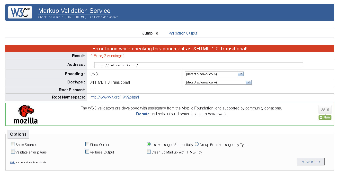 Обзор СЕО-инструментов: validator